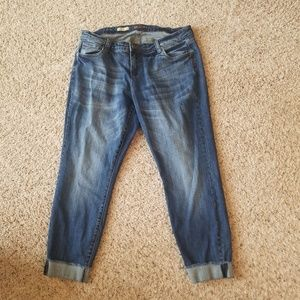 Kut From The Kloth 14W Ankle Straight Leg Jeans